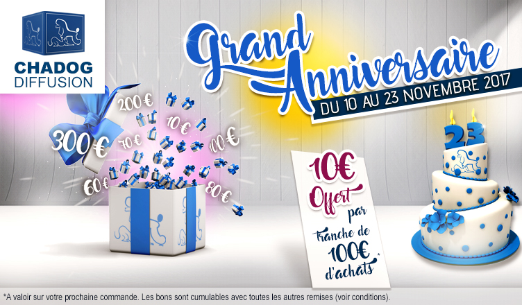GRAND ANNIVERSAIRE - BIRTHDAY